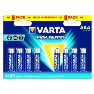 Varta Batterij AAA 8-Pack He Mignon