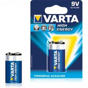 Varta Batterij He 9V-Block E