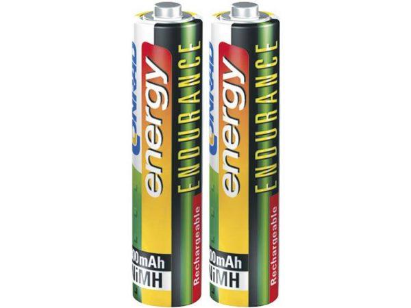 Oplaadbare AAA batterij (potlood) Conrad energy Endurance HR03 NiMH 800 mAh 1.2 V 2 stuk(s)