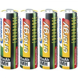 Conrad energy Endurance HR06 Oplaadbare AA batterij (penlite) NiMH 2300 mAh 1.2 V 4 stuk(s)