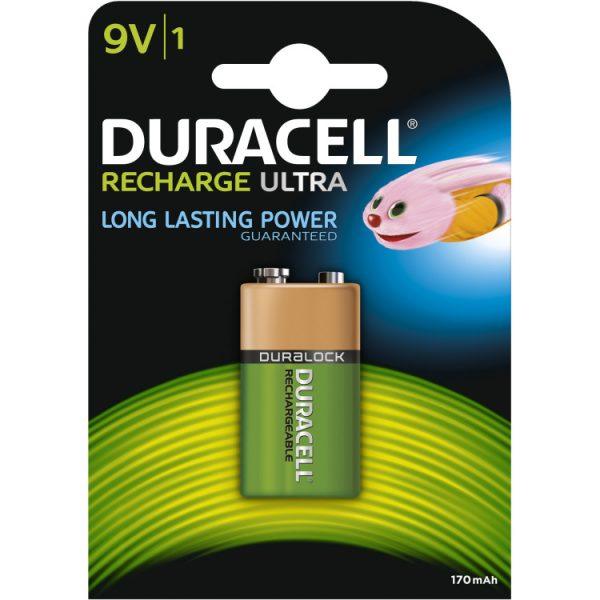 Duracell Recharge Ultra 9V-batterij oplaadbare batterij